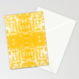 Yellow Tie Dye Jacobs Ladder Stationery Cards