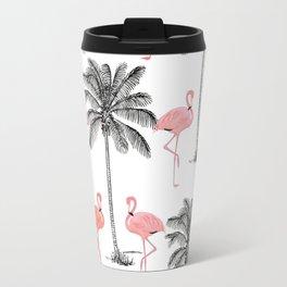 Ahh Flamingo Travel Mug
