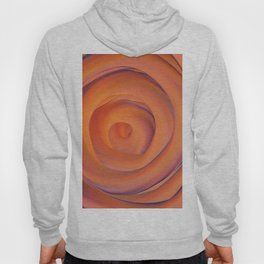 orange and violate gate colorful abstract Hoody