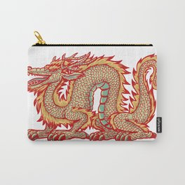 Old China Dragon Carry-All Pouch