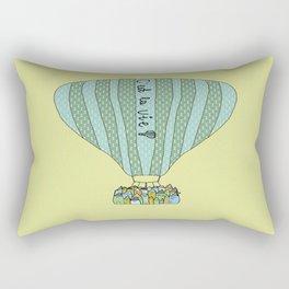 C'est la vie Rectangular Pillow