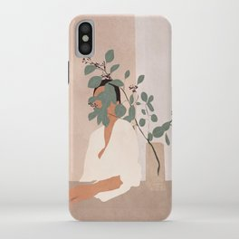 Behind the Leaves iPhone Case