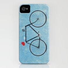 I ♥ BIKES iPhone (4, 4s) Slim Case