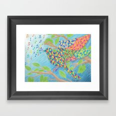 Kaleidescopic Framed Art Print