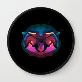 Liger skull Wall Clock