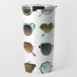 Sunglasses Collection – Mint & Tan Palette Travel Mug
