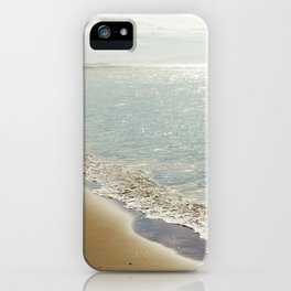 beauty and the beach iPhone Case