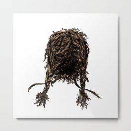 Messy dry curly hair 4 Metal Print