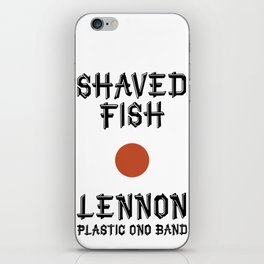 Shaved fish iPhone Skin