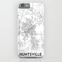 Minimal City Maps - Map Of Huntsville, Alabama, United States iPhone Case