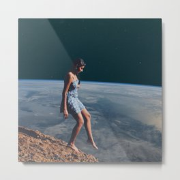 Going to Unknown World Metal Print