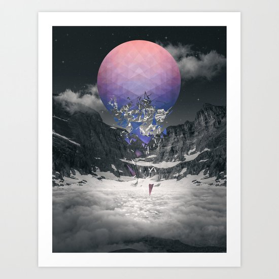 Fall To Pieces III Art Print