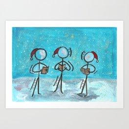 "#cagsticks ""A Christmas carol"" Art Print"