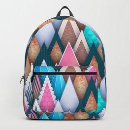 Sweet Colorful Arrowheads Backpack