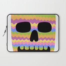 Zig-Zag Skull Laptop Sleeve