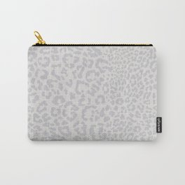Snow Leopard Print Carry-All Pouch