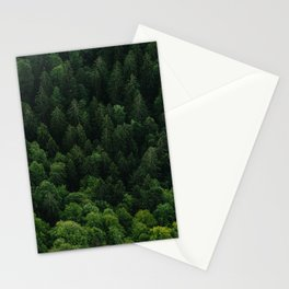 Swiss forest Stationery Cards