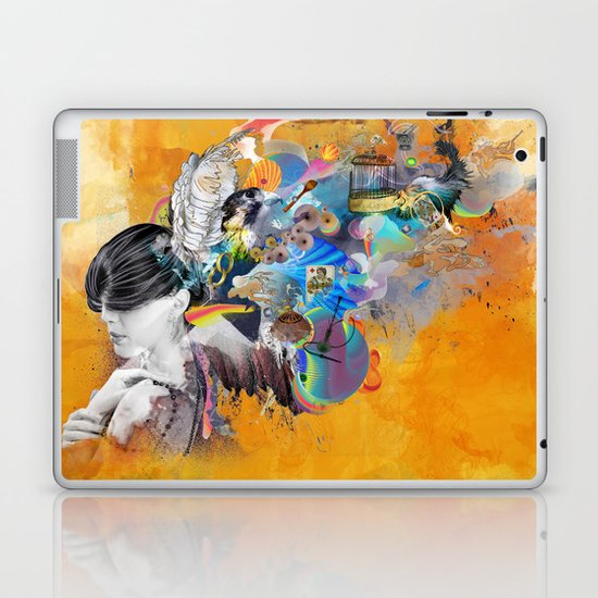 Floating Mind Laptop & iPad Skin