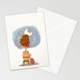 Nothing is out of reach Stationery Cards