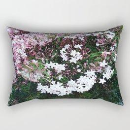 Beautiful Jasmine Flowers In Full Bloom  Rectangular Pillow