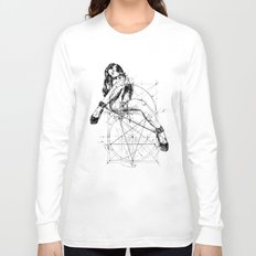 Samael Lilith and the Golden ratio Long Sleeve T-shirt