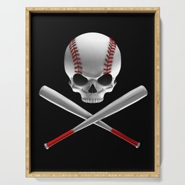 Phantom Ballplayer Serving Tray