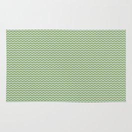 U14: algae chevron Rug