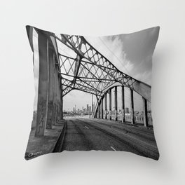 Sixth Street Viaduct Bridge - LA 02/30/2016 Throw Pillow