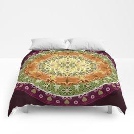 Dragonfly Mandala Comforters