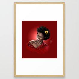 The Red Queen Framed Art Print