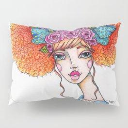 JennyMannoArt Colored Illustration/Jane Pillow Sham