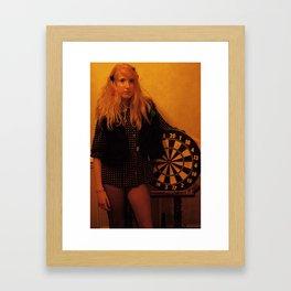 dart queen Framed Art Print