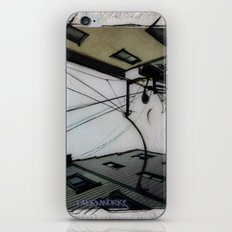 Wires in North Beach San Francisco iPhone & iPod Skin