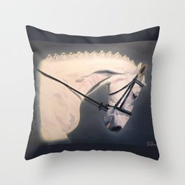 Dressage Competitor Throw Pillow