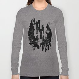 Galaxy of the Unknown by INS Long Sleeve T-shirt