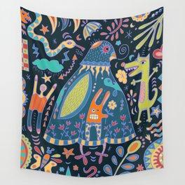 Bird Talk Wall Tapestry