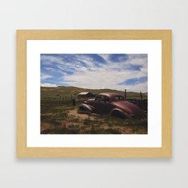 Bodie, Ca 3 Framed Art Print