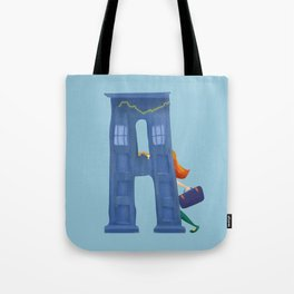 A for Amy Pond Tote Bag