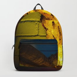 Colorful Buck Head Abstract Backpack