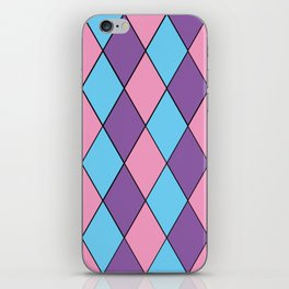 Diamonds - Pastel iPhone Skin