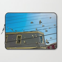 Doves and Wire#3 Laptop Sleeve