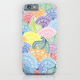 Colorful Garden iPhone Case