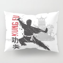 Kung Fu Pillow Sham