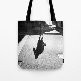 Running Shadows Tote Bag