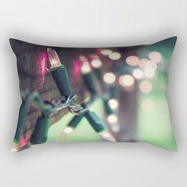 Pink Lights Rectangular Pillow