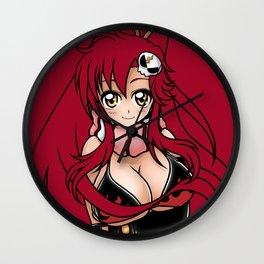 Yoko - Scarlet Star from TTGL Wall Clock