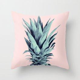 Blush Pineapple Dream #1 #tropical #fruit #decor #art #society6 Throw Pillow