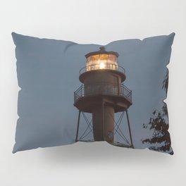 Lighthouse at Night Pillow Sham