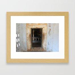 Way to the Shrine Framed Art Print