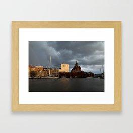 Helsinki 4 Framed Art Print